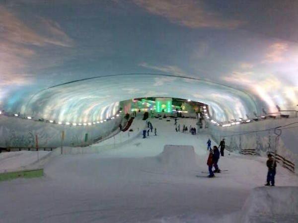 深圳世界之窗滑雪場