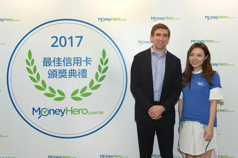 MoneyHero.com.hk 營運總監 Alister Musgrave及Rachel Lam
