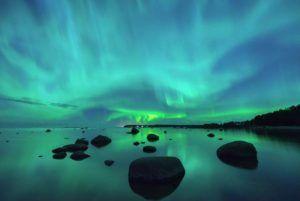 芬蘭 追極光