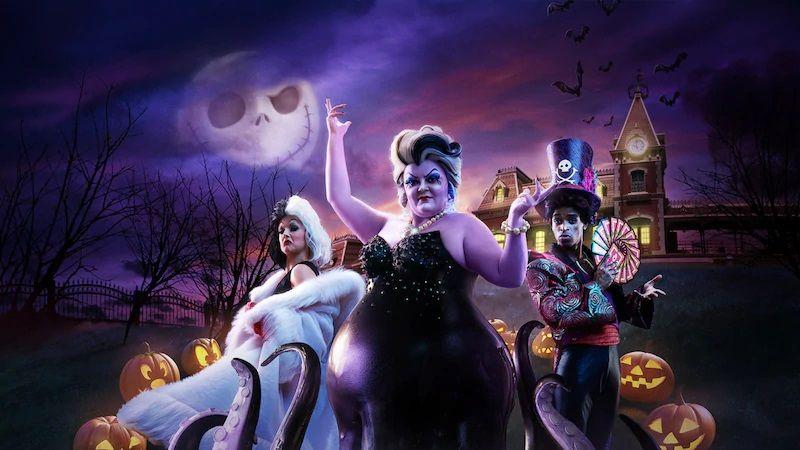 迪士尼-萬聖節-Halloween