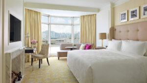 Room at the Langham Hotel Hong Kong