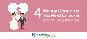 4 Money Concerns You Need to Tackle Before Tying the Knot
